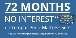 Tempur Pedic Financing Offer