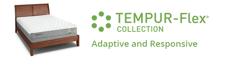 Tempur Flex Collection Banner