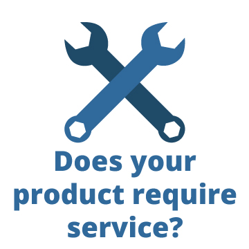 Does your product require service?