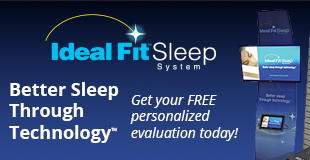 IdealFit Sleep System: better sleep through technology.