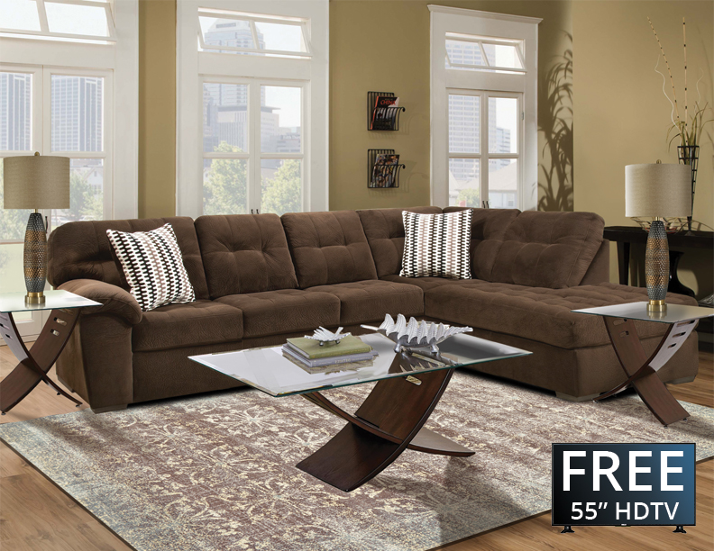 Eight Piece Sectional Furniture Package