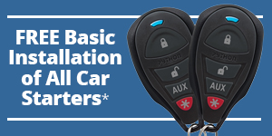 Free basic installation of car starters!
