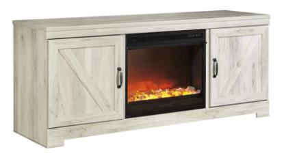 Picture of ASHLEY W331-68-TV-STAND-&-FIREPLACE