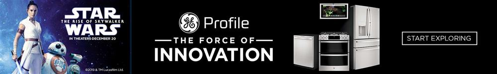 GE Profile Star Wars The force Of Innovation Banner