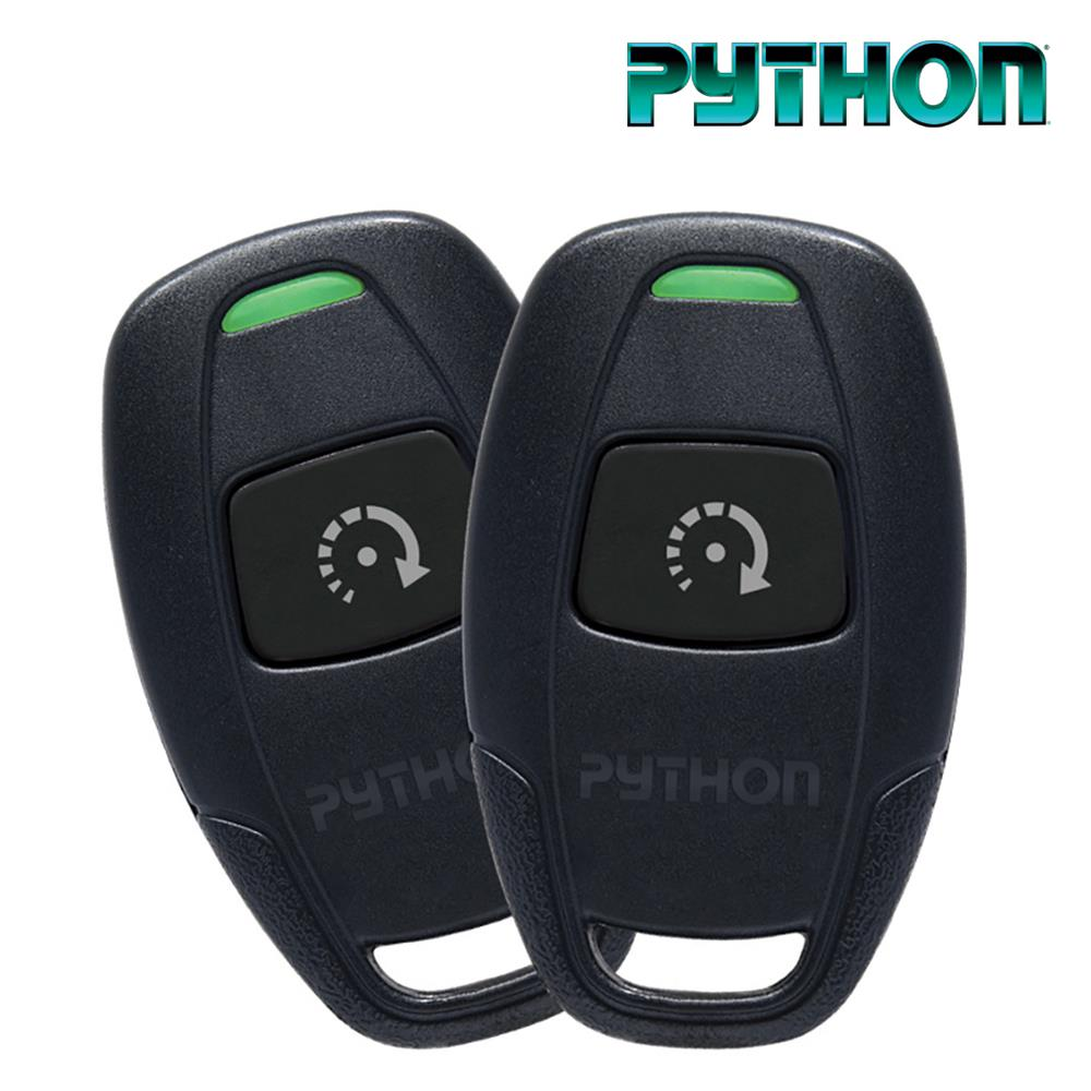 Python Remote Car Starter with Two 1 Button Remotes