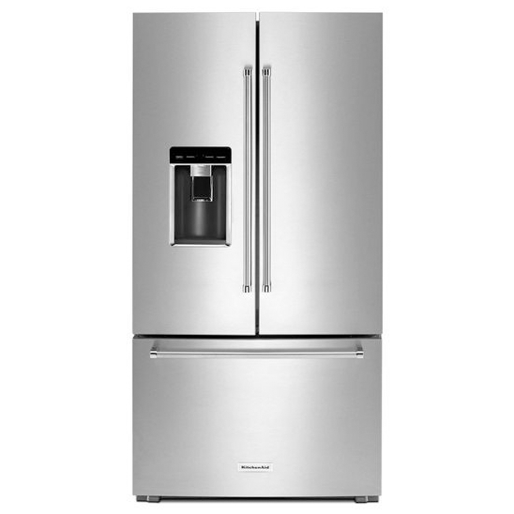 "36"" - 23.8 Cu. Ft. Counter-Depth French Door Refrigerator with Exterior Ice and Water"
