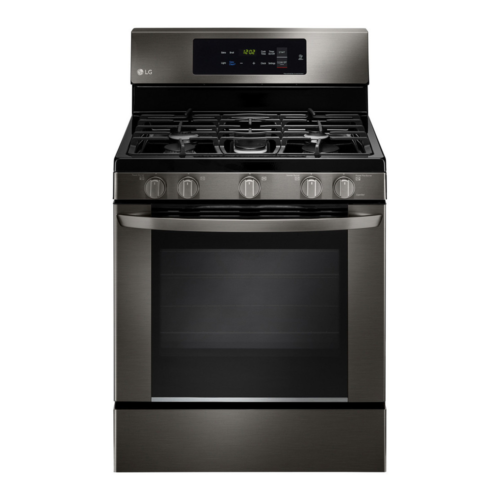 LG Black Stainless Steel Gas Range