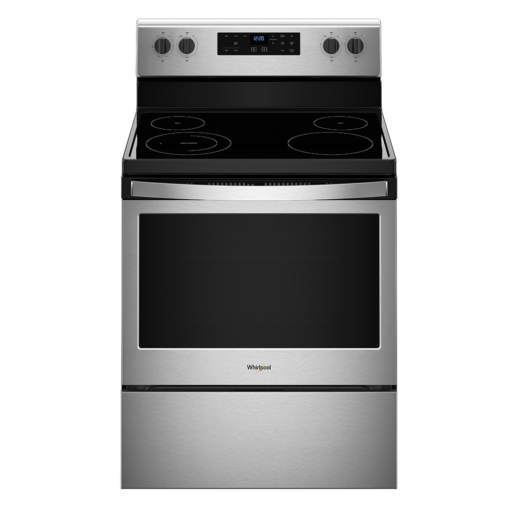 "Whirlpool 30"" Steam Clean Electric Range"