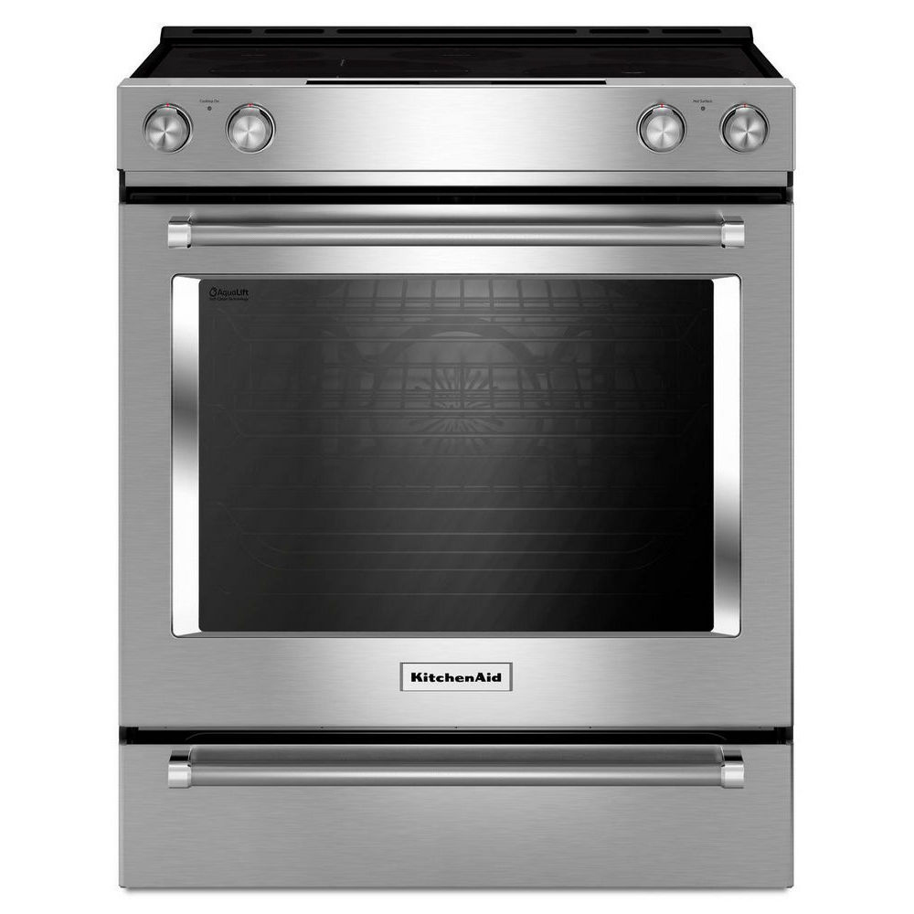 KitchenAid 6.4 Cu. Ft. Slide-In AquaLift® Self Clean Convection Range