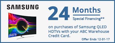 24 Month Financing on Samsung QLED HDTV