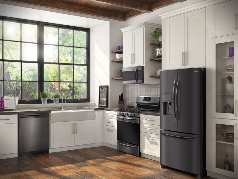 Frigidaire Gallery Black Stainless Steel Abc Warehouse