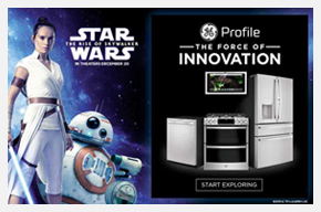GE Profile Star Wars The Force of Innovation