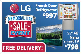 LG Memorial Day Sale Event