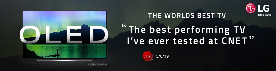 OLED the worlds best TV Banner
