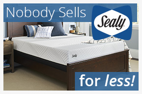 nobody sells sealy for less.