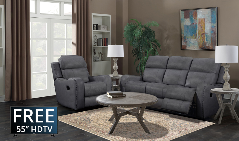 The Irving Collection with Recliner