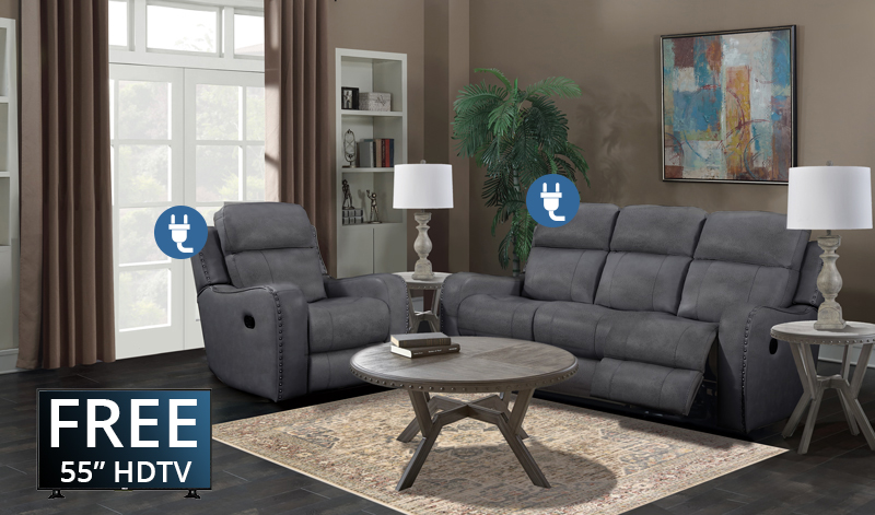 The irving collection power with recliner