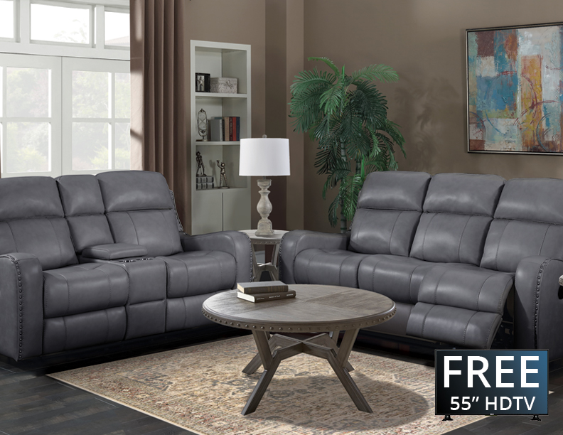 Eight Piece Reclining Furniture Package