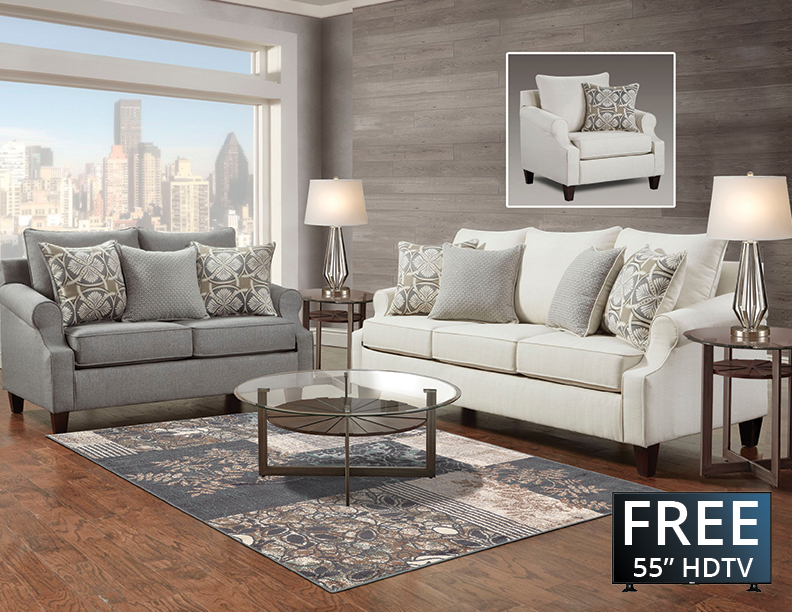 Eight Piece Furniture Package
