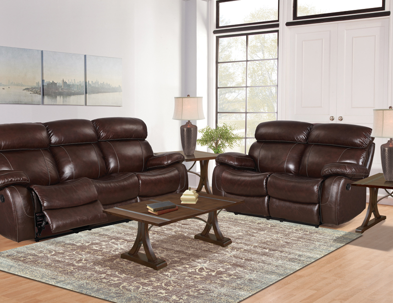 Seven Piece Motion Or Power Furniture Package