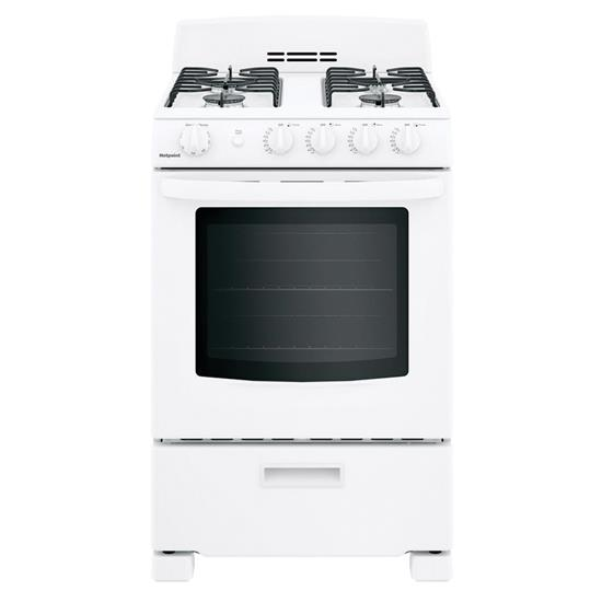 Picture of HOTPOINT BY G.E. RGAS300DMWW