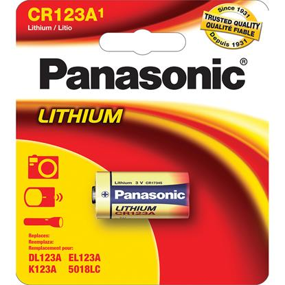 Picture of PANASONIC CR123APA/1B