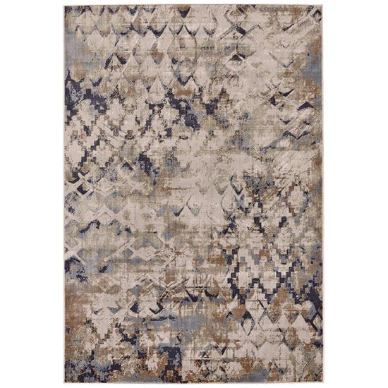 Picture of FEIZYRUGS CANNES-3688F-BLUE/BEIGE