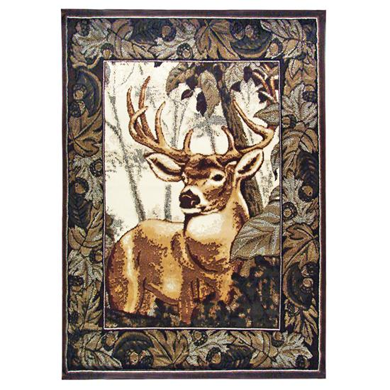 Picture of UNITED WEAVERS OF AMERICA 9103309258-ELK-FOREST-AREA-RUG