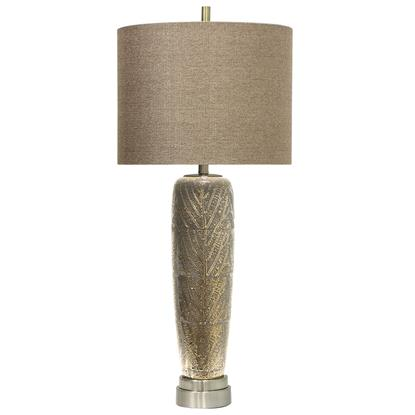 Picture of STYLECRAFT HOME L311626-METALLIC-LEAF-LAMP-x1