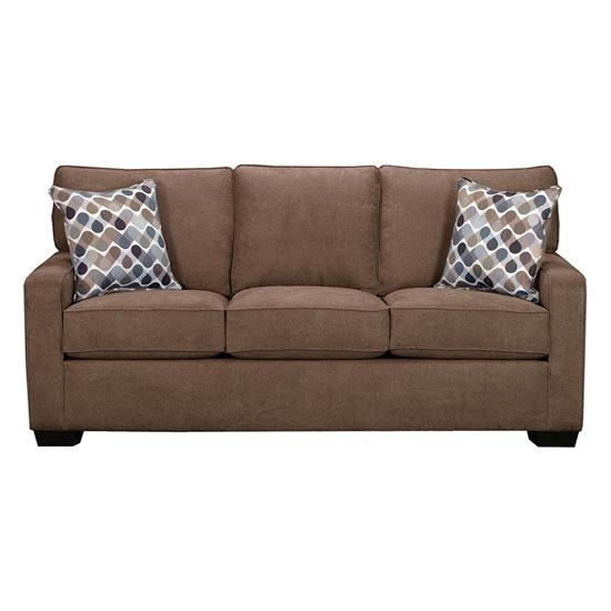 Picture of SIMMONS UPHOLSTERY 9025-QUEEN-SLEEPER-SOFA-LATTE