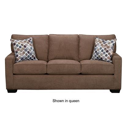 Picture of SIMMONS UPHOLSTERY 9025-FULL-SLEEPER-SOFA-LATTE