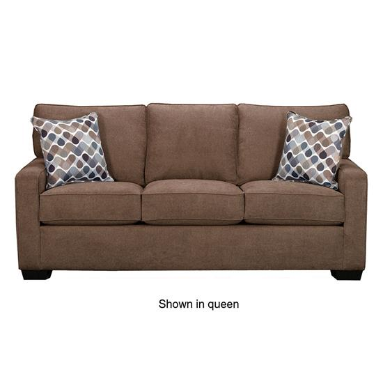 Picture of SIMMONS UPHOLSTERY 9025-MINI-SLEEPER-SOFA-LATTE