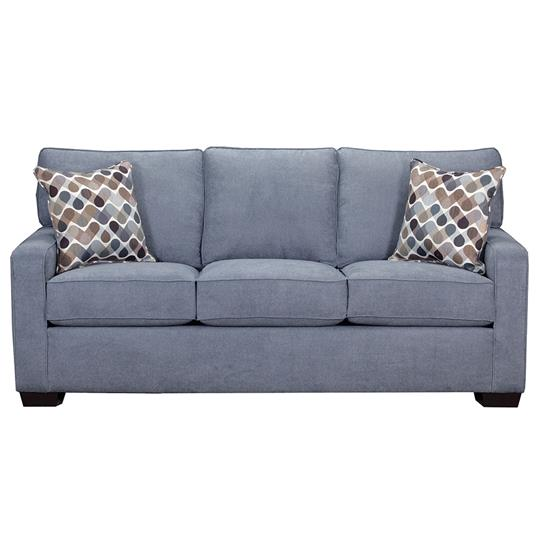Picture of SIMMONS UPHOLSTERY 9025-QUEEN-SLEEPER-SOFA-DENIM