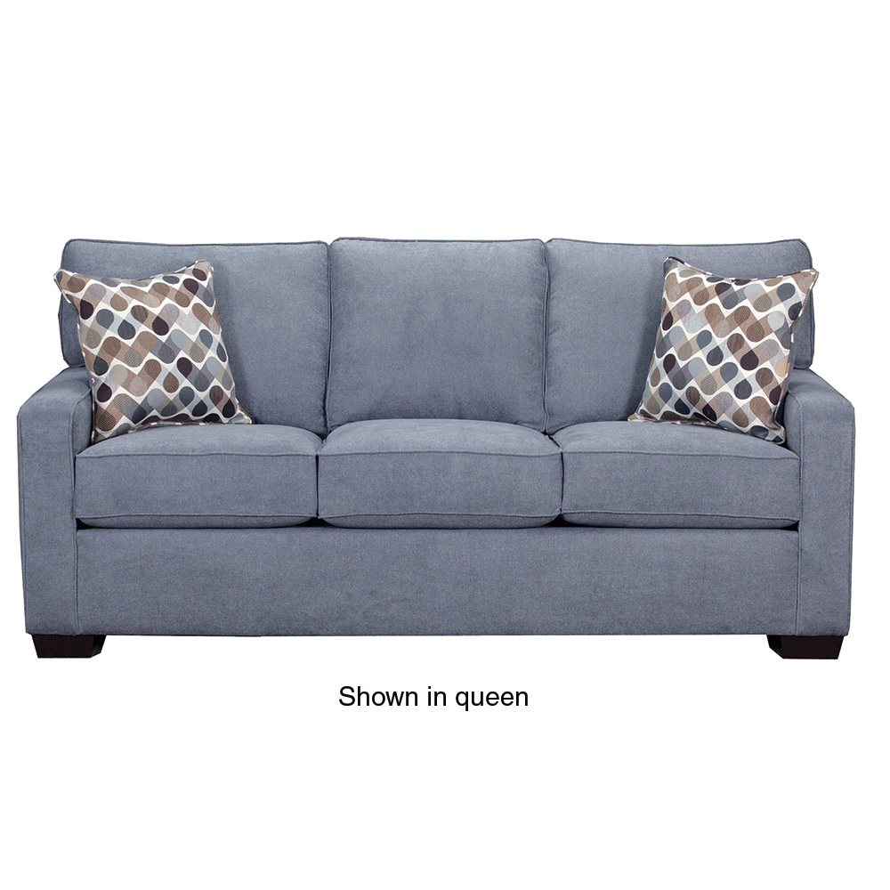 SIMMONS UPHOLSTERY 9025 MINI SLEEPER SOFA DENIM ABC Warehouse