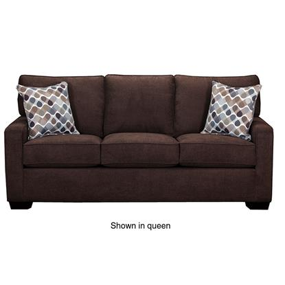 Picture of SIMMONS UPHOLSTERY 9025-FULL-SLEEPER-SOFA-ESPRESS