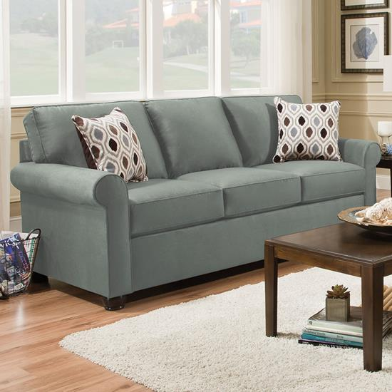 Picture of SIMMONS UPHOLSTERY 1530-QUEEN-SLEEPER-SOFA-SPA