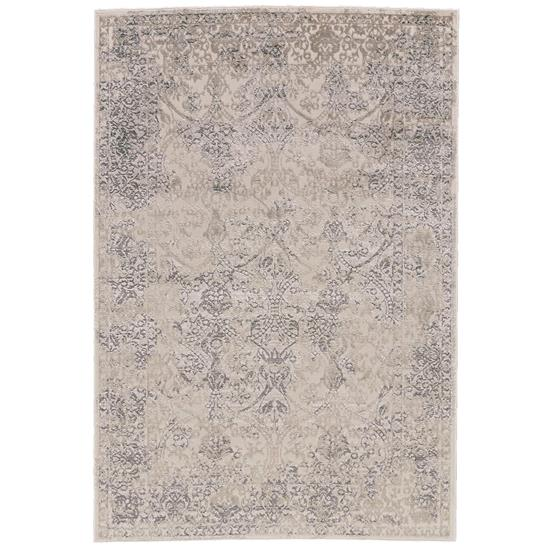 Picture of FEIZYRUGS 3682F-PRASAD-LIGHT-GRAY-5X8