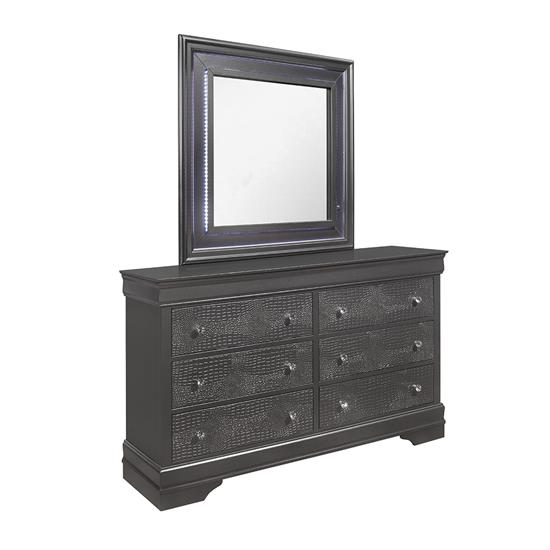 Picture of GLOBAL POMPEI-GREY-DRESSER