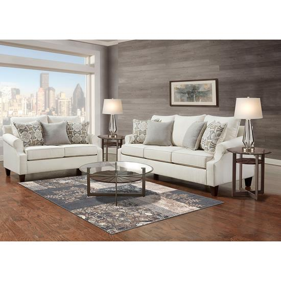 Picture of WASHINGTON FURNITURE TRISTEN-COLLECTION-CREAM-8PC
