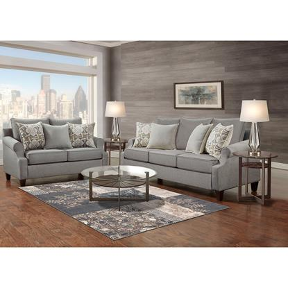 Picture of WASHINGTON FURNITURE TRISTEN-COLLECTION-GREY-8PC-PK