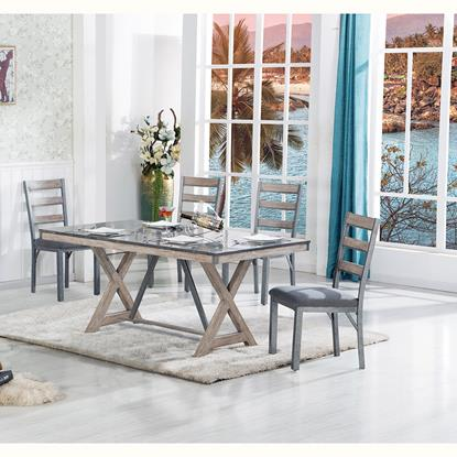 Picture of LIFESTYLE ENTERPRISE GRAND-TOUR-TABLE-&-(4)CHAIRS