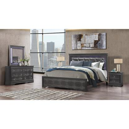 Picture of GLOBAL POMPEI-GREY-6PC-QUEEN-PACKAGE