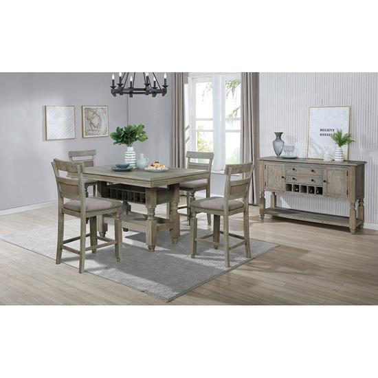 Picture of LIFESTYLE ENTERPRISE MICHELLE-5PC-DINING-PACKAGE