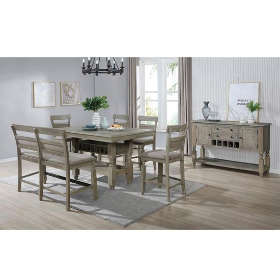 Picture of LIFESTYLE ENTERPRISE MICHELLE-6PC-DINING-PACKAGE