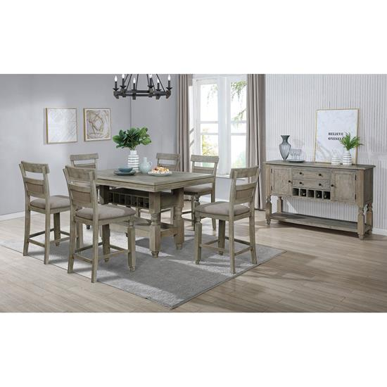 Picture of LIFESTYLE ENTERPRISE MICHELLE-7PC-DINING-PACKAGE