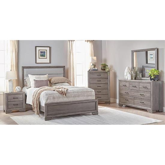 Picture of LIFESTYLE ENTERPRISE SILVIRAZ-7PC-BEDROOM-PKG