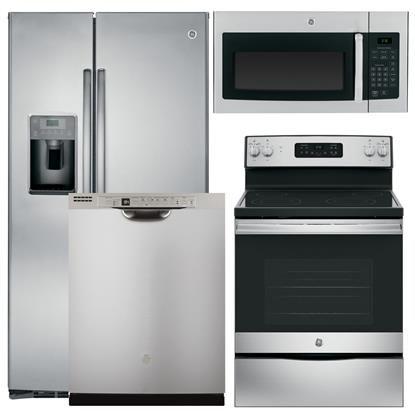Picture of GENERAL ELECTRIC GE-4-PIECE-KITCHEN-PACKAGE