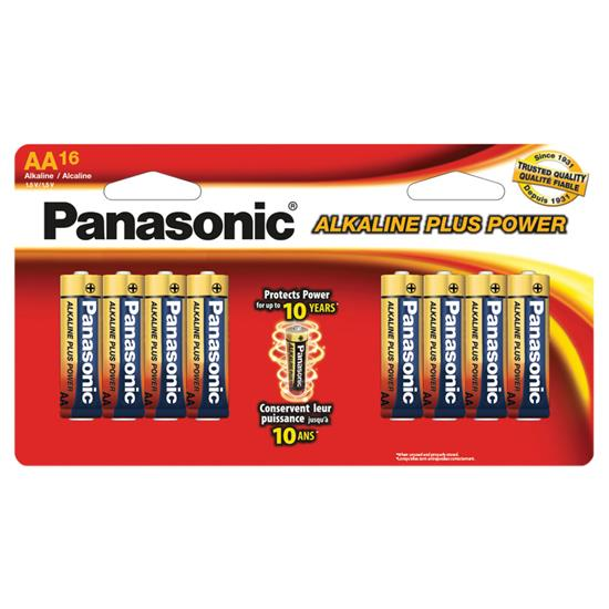 Picture of PANASONIC ENERGY C/O AMER LR6PA/16BHT