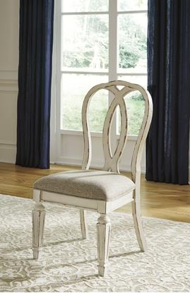 Picture of ASHLEY D743-02-RIBBON-BACK-DINING-CHA