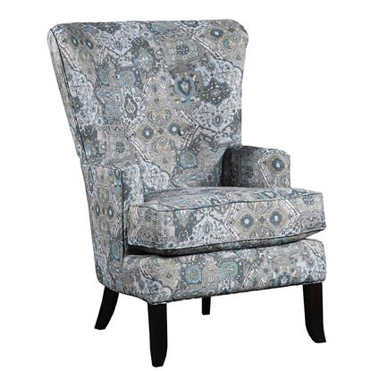 Picture of J HENRY 1316-18/628-60-WING-CHAIR